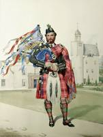 William MacDonald; The Prince's Piper (MacLeay)