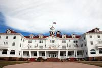 The Stanley Hotel in Estes Park (color)