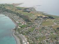 New Zealand - Kaikoura Peninsula Aerial View