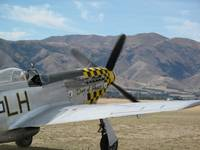 Mustang P51 Warbirds Over Wanaka 2010 NZ