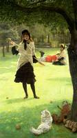 Croquet by James Jacques Joseph Tissot