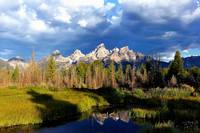 The Grand Tetons In Morning Light