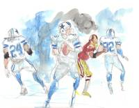 Cowboys vs Redskins #1