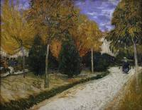 Path in the Park at Arles by Vincent van Gogh