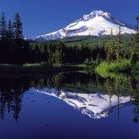 Mt Hood - Oregon - 2 by John Tribolet