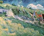 Cottages at Auvers-sur-Oise by Vincent van Gogh