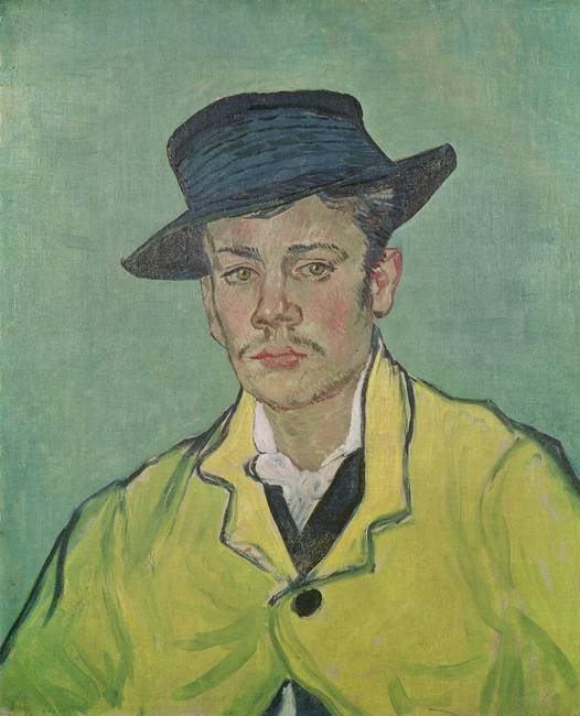 Portrait of Armand Roulin by Vincent van Gogh