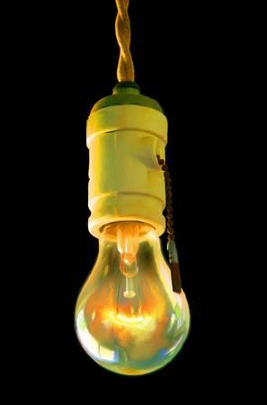 Bare Bulb Light