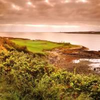 """12th hole at Ardglass Golf Club, Northern Ireland"" by gallow"