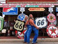 Route 66: Sand Hills Curiosity Shop in Erik, Oklah