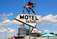 Route 66: Motel Safari In Tucumcari