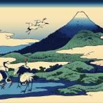Hokusai Umegawa in Sagami Province by Leo KL