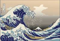 Hokusai Mount Fuji The Great Wave