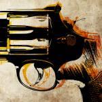 """""""Revolver Trigger"""" by ModernArtPrints"""
