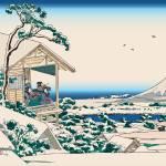 Hokusai Tea House Koishikawa by Leo KL