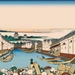 Hokusai Nihonbashi bridge in Edo by Leo KL