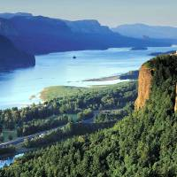 Columbia River Gorge by John Tribolet