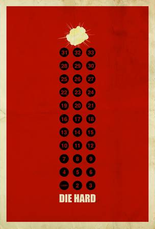 Die Hard Minimalist Movie Posters