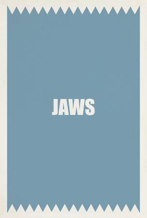 Jaws Minimalist Movie Posters