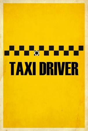 Taxi Driver Minimalist Movie Posters