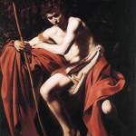 Caravaggio St John The Baptist 3 by Leo KL