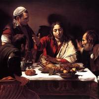 """""""Caravaggio Supper At Emmaus 2"""" by oldies"""