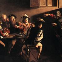 """Caravaggio The Calling Of Saint Matthew"" by oldies"