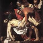Caravaggio The Entombment by Leo KL