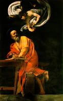 Caravaggio The Inspiration Of Saint Matthew