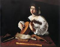 Caravaggio The Lute Player