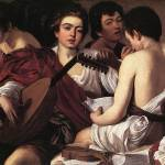 Caravaggio The Musicians by Leo KL