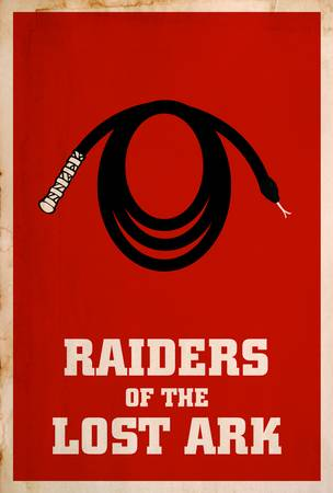Raiders of the Lost Ark Minimalist Movie Posters