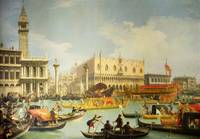 Betrothal of the Venetian Doge by Canaletto