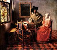 Glass of Wine by Vermeer