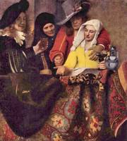 Kupplerin by Vermeer