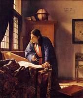 The Geographer by Vermeer