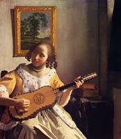 The Guitar Player by Vermeer