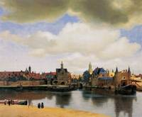 View of Delft by Vermeer