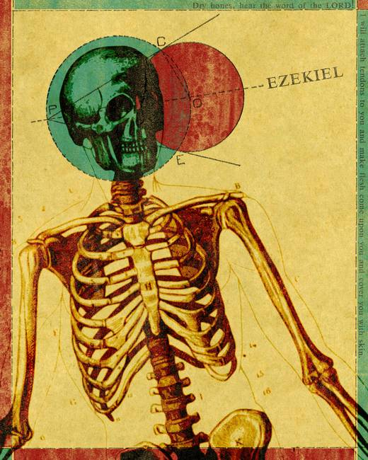 Word: Ezekiel Books of the Bible Posters
