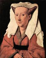 Portrait of Margaretha van Eyck by Jan Van Eyck