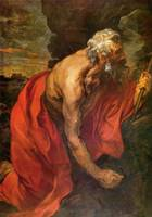St Hieronymus by Anthony van Dyck