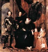Portrait of the Lomellini family by van Dyck