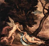 Amour and Psyche by Anthony van Dyck