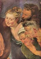 The Drunken Silenus (detail) by Peter Paul Rubens