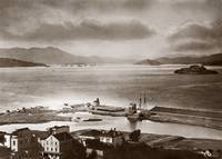 Meiggs' Wharf, Telegraph Landing area, c. 1885 by WorldWide Archive