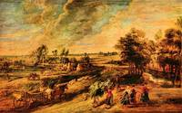 Return of the Farmers from the Field by Rubens