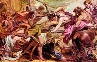 Rape of Hippodameia by Peter Paul Rubens
