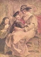 Portrait of Artist's Family by Peter Paul Rubens