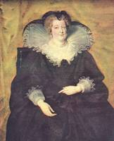 Portrait of Maria de Medici, Queen of France