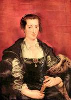 Portrait of Isabella Brant by Peter Paul Rubens